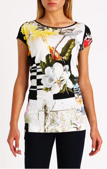 Стилна блуза в издължен силует