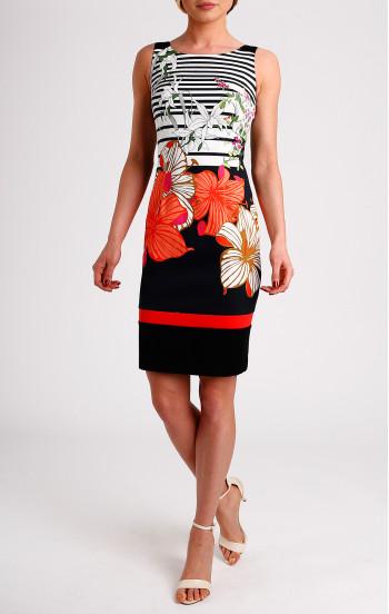Забележителна рокля от еластичен памук