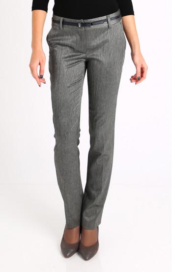 Елегантен панталон в цвят графит
