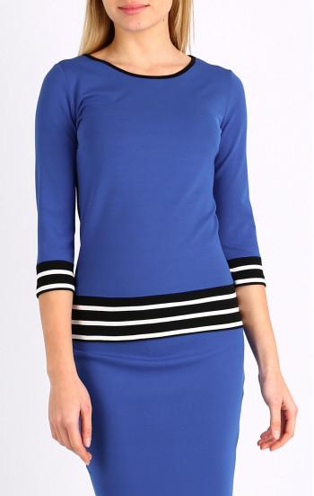 Ефектна блуза с 3/4 ръкав
