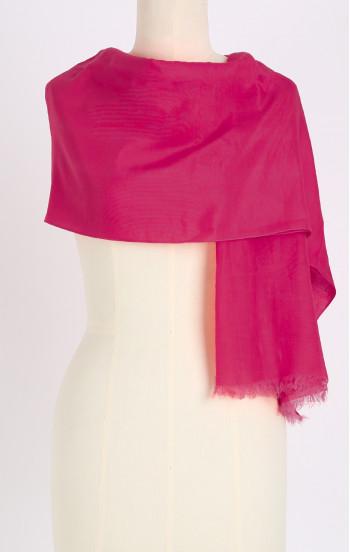 Лек шал от памук и коприна