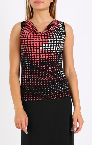 Елегантна блуза с гръцко деколте