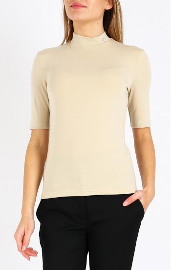 Блуза с лого от кристали Swarovski