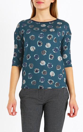 Елегантна блуза от фино трико