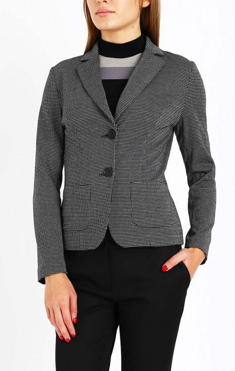 Елегантно сако с дълъг ръкав