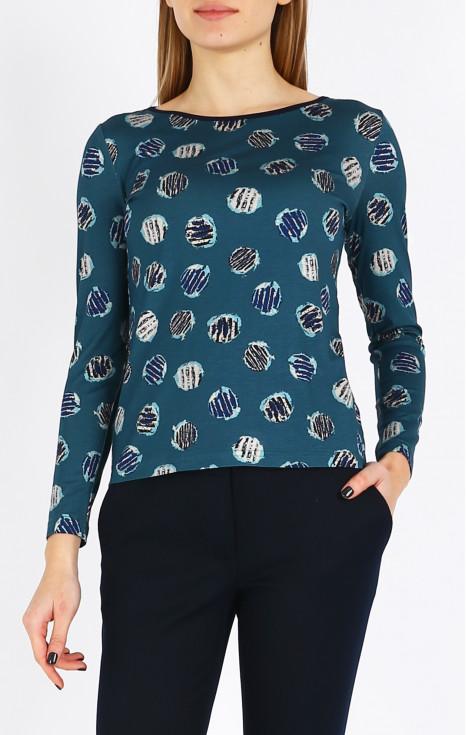Блуза от фина материя