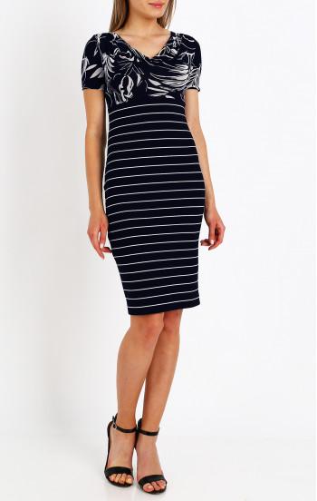 Елегантна рокля с гръцко деколте