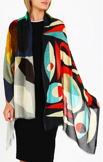 Летен шал от кашмир и модал