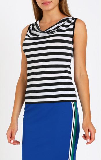 Блуза с гръцко деколте