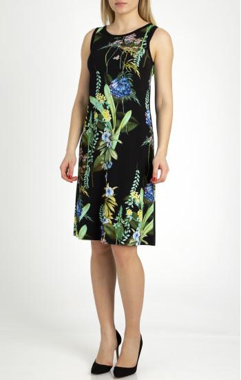 Комфортна лятна рокля от трико