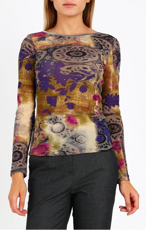 Блуза от фино трико