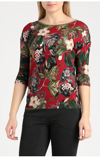 Блуза в свободен силует