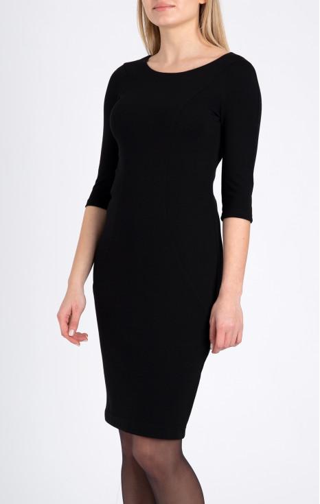 Елегантна права рокля