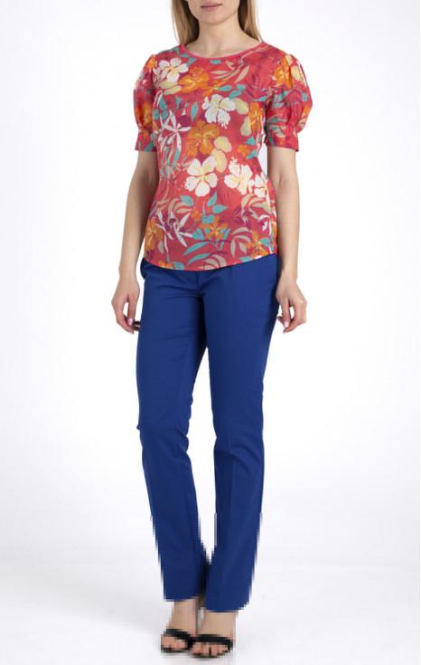 Елегантна блуза от фин памук
